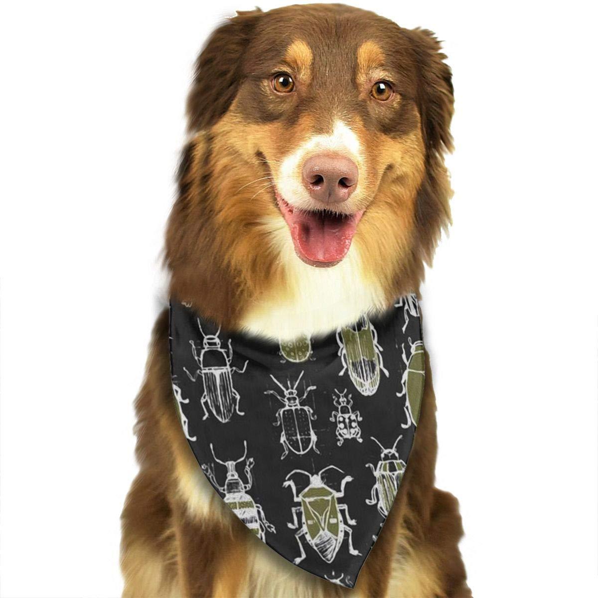 Amazoncom Dog Bandana Beatles Triangle Bibs Scarf Printing