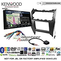 Volunteer Audio Kenwood Excelon DNX994S Double Din Radio Install Kit with GPS Navigation Apple CarPlay Android Auto Fits 2012-2013 Non Amplified Toyota Camry