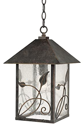 French garden collection 15 high hanging outdoor light amazon french garden collection 15quot high hanging outdoor light workwithnaturefo