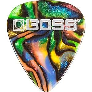 Boss BPK-12-AH   Heavy Celluloid Pack of 12 Guitar Picks