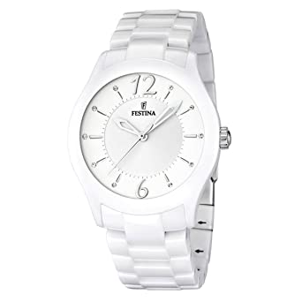 Festina Ceramic Collection Wristwatch for women Made of Ceramic