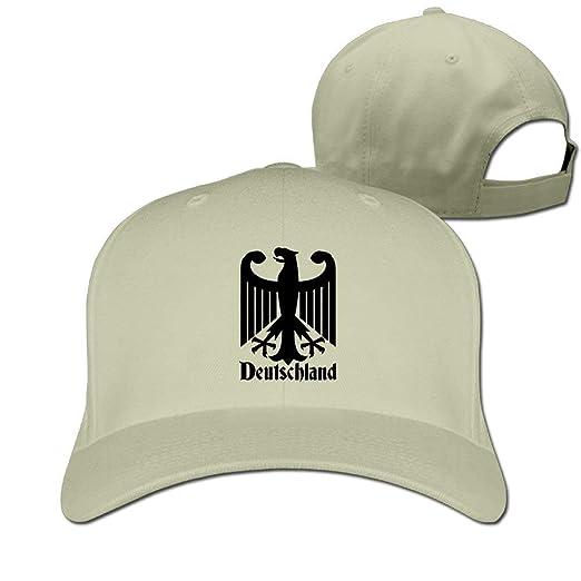 dfa2d624424 Image Unavailable. Image not available for. Color  Deutschland German  Unisex Hat Mens Womens ...
