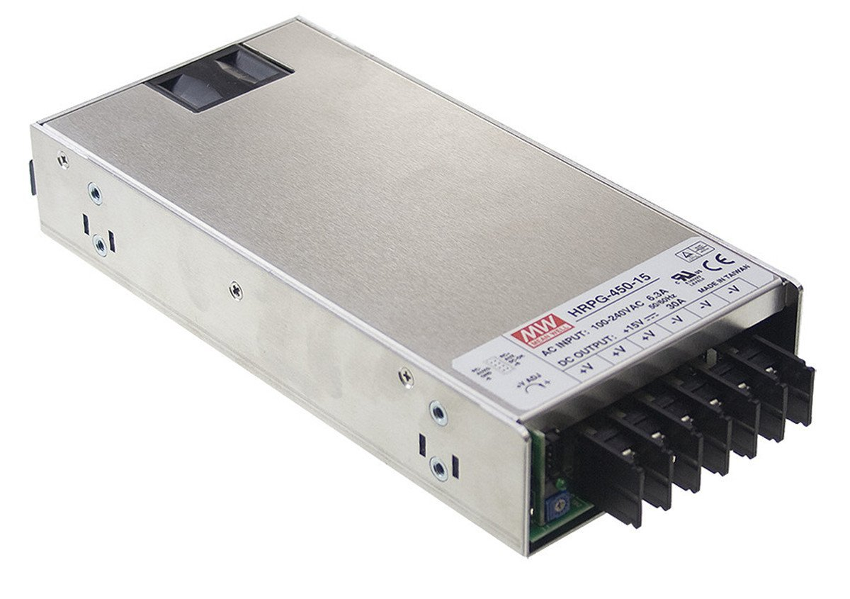 Amazon.com: Mean Well HRPG-450-5 Switching Power Supply 450W 5V 90A ...