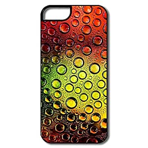 Great Colorful WaterDrops Pc Case For IPhone 5/5s