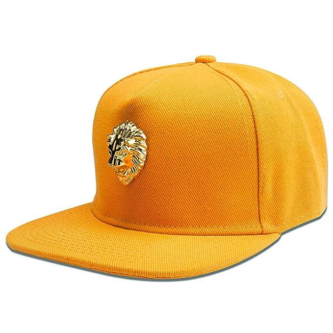 sdssup Lion Head Iron Marea estándar Marca Hip Hop Gorra Plana ...
