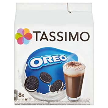 Tassimo Oreo Hot Chocolate Pods 16 Pods 8 Servings