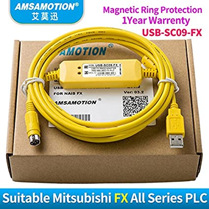 Buy Buyme Usb-Sc09-Fx PLC Programming Cable Industry Grade Suitable