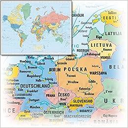 Die Welt Karte.Business World Die Welt Weltkarte 1 20 000 000 Poster