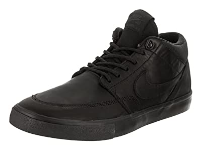 Nike Mens sb portmore ll Low Top Lace Up Running Sneaker Black black Size 10.5