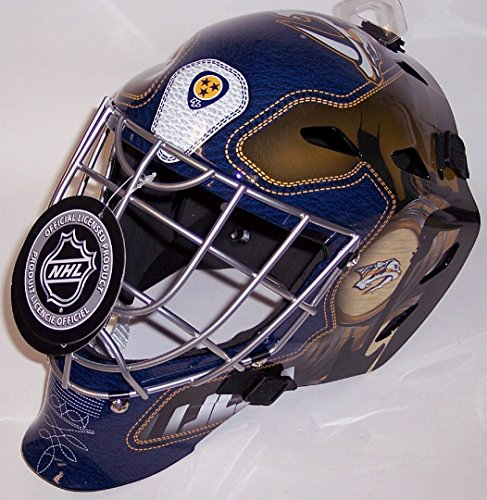 fan products of Nashville Predators NHL Full Size Youth Goalie Hockey Mask - New with Tags