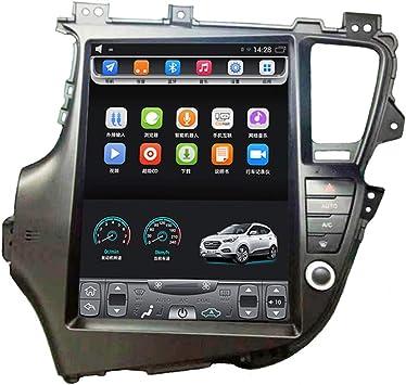 2011-2015 Kiaa Optima K5 12,1 Pulgadas Gran Ancho Pantalla táctil Vertical Coche Android GPS navegación Navigation Multimedia Reproductor de Radio Video Bluetooth WiFi: Amazon.es: Electrónica