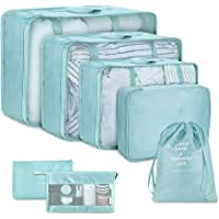 Packing Cubes for Travel - Waterproof Travel Luggage Organizer Multi-functional Clothing Sorting Storage Bag Foldable…