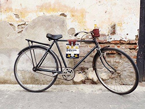 Six Pack Bike Cinch (Bicycle Beer Carrier) Handmade by Hide & Drink :: Bourbon Brown