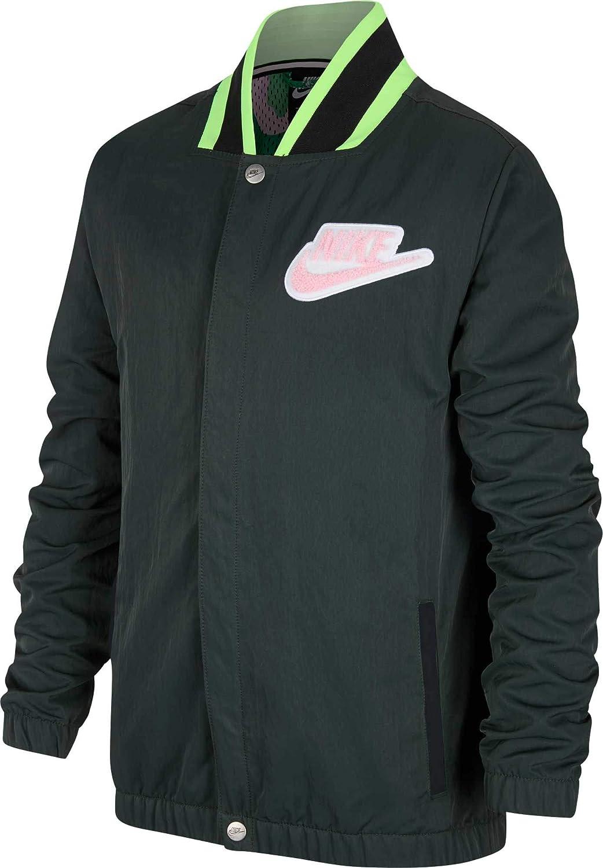 Nike ボーイズ スポーツウェア フープフライジャケット US サイズ: Medium カラー: ブラック