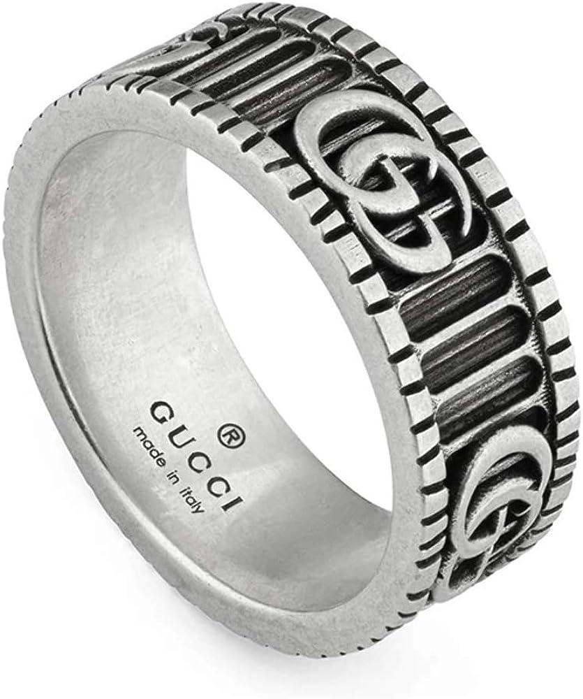 Gucci Marmont anillo en plata 8mm