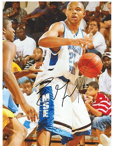 Eric Clippers Gordon (Eric Gordon Los Angeles Clippers Signed 8.5 x 11 Photograph - Autographed NBA Photograph)