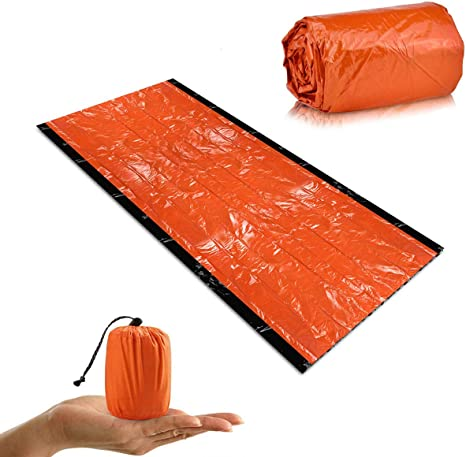 First Aid Emergency Blanket Emergency Sleeping Bag Insulation Reflective //H