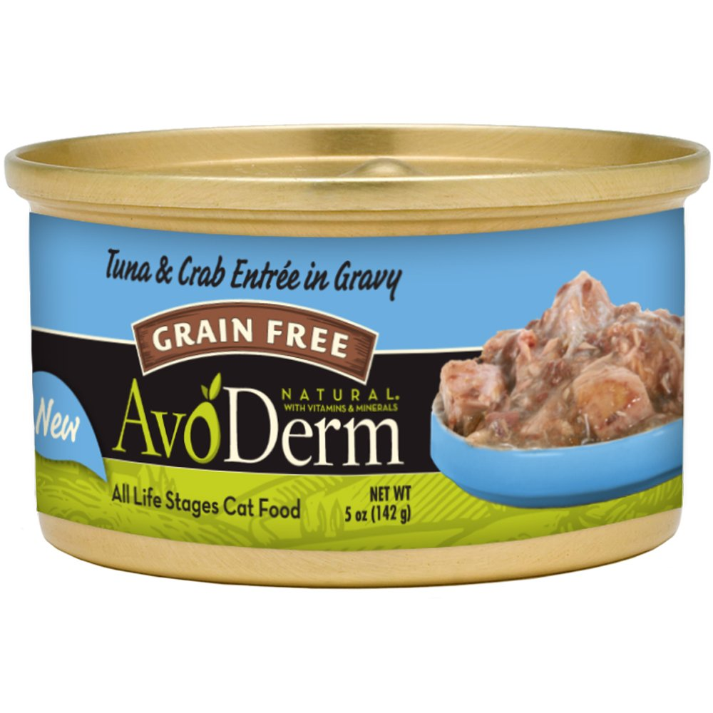 AvoDerm Natural Grain Free Wet and Dry Cat Food, Tuna Variety Flavors