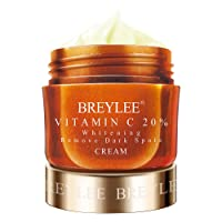 Vitamin C Cream, BREYLEE Vitamin C Face Moisturizer for Nourish skin and Improve Skin Ton Facial Moisturiz with Hyaluronic Acid and Vitamin Day and Night Moisturizing Cream for Face(40g, 1.4oz)