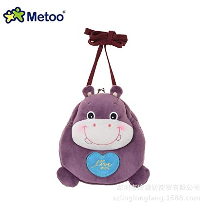 Jewh Plush Stuffed Animal Cartoon Bags Kids Doll Plush Backpack Toy Children Shoulder Bag for Kindergarten