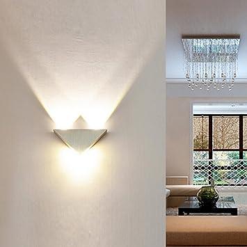 EgoEra Wandleuchte, reg; 3W Aluminium LED Wandleuchte/Wandstrahler ...