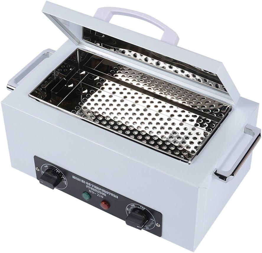 Esterilizador de calor seco Gabinete Autoclave lupa Vet médica máquina w/temporizador Control Dental para tatuaje de belleza casa uso