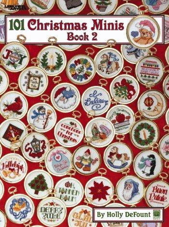 {Christmas Crafts} 101 Christmas Minis: Book 2 {Leisure Arts Leaflet 2535}