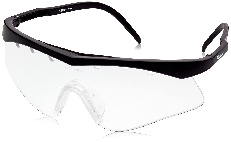 Wilson Lunettes de squash Jet Noires ZC1506 lunettes de squash junior lunette squash enfant accessoire squash