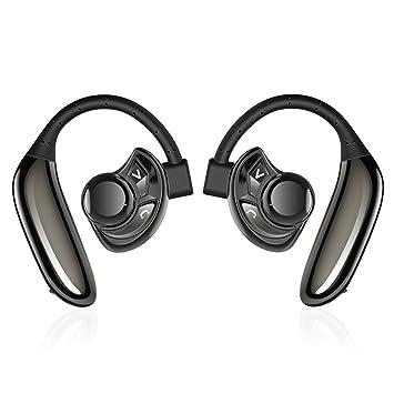 Auriculares Inalámbricos, Bodecin Cierto Bluetooth Estéreo Inalámbrico 4.2 Auriculares Manos Libres Sweatproof Auriculares In-Ear Con La Batería De Gran ...