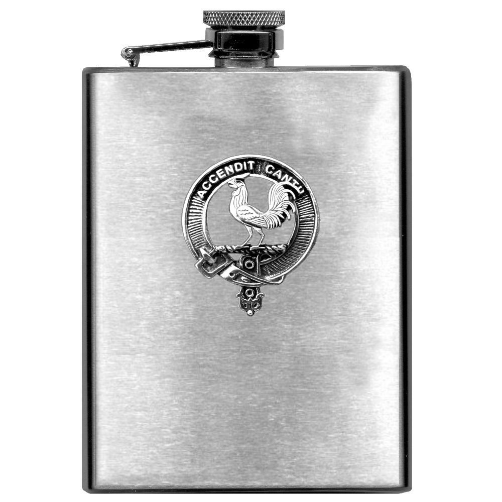 Cockburn Scottish Clan Stainless Steel 8oz Flask