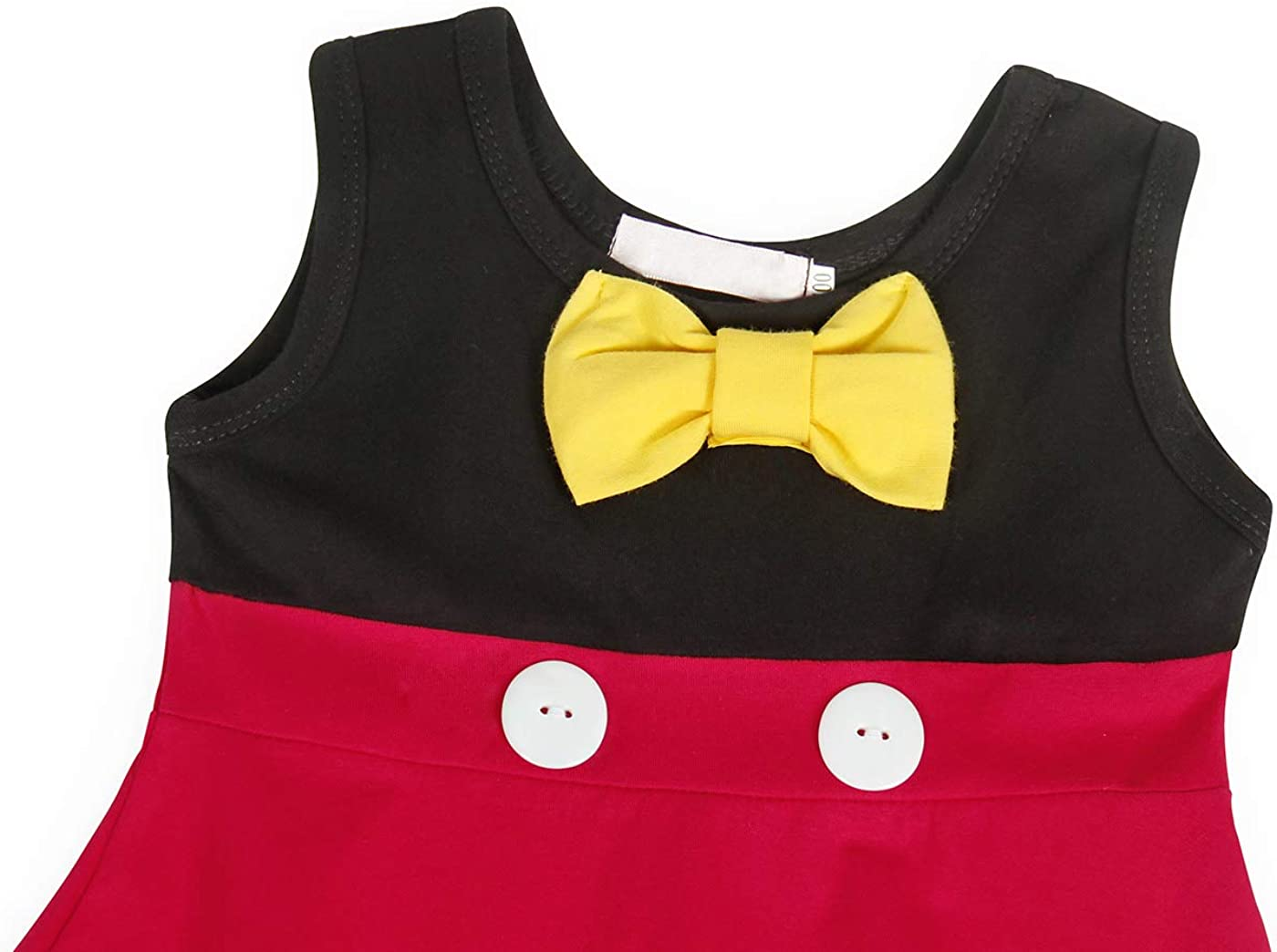 AmzBarley Girls Dress Polka Dots Kids Costume Halloween Fancy Dress Party Christmas
