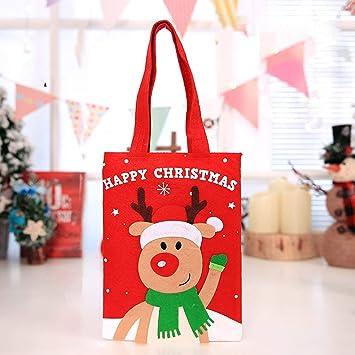 VIGE Bolsos de Dulces portátiles para niños de Navidad ...