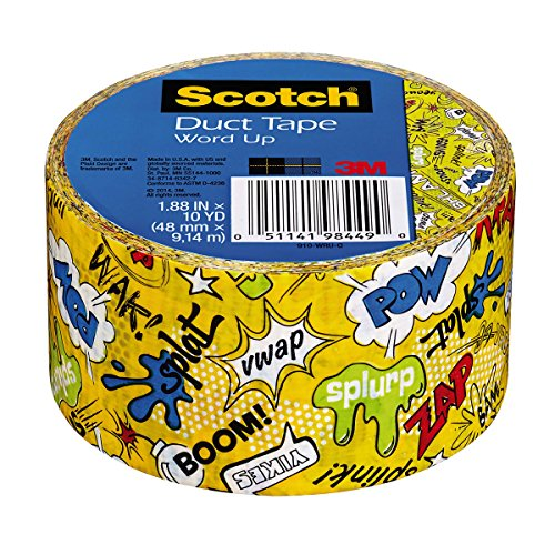 (Scotch Duct Tape, Word Up 2, 1.88-Inch x)