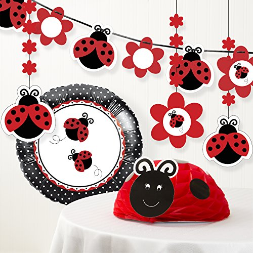 Creative Converting Ladybug Fancy Birthday Party Decorations