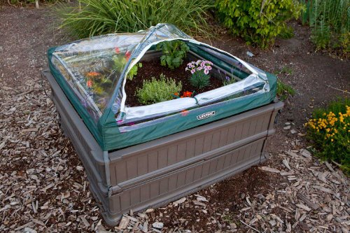 081483009032 - Lifetime 60053 Raised Garde Bed Kit, 2 Beds and 1 Early Start Vinyl Enclosure carousel main 2