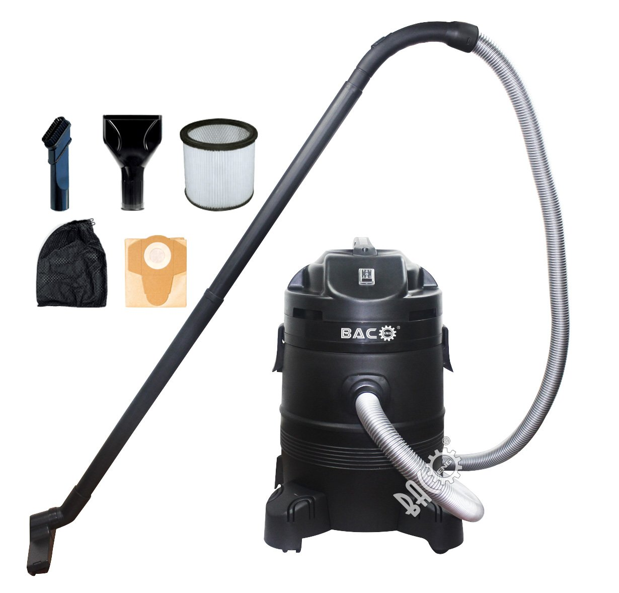 BACOENG 12 Gallon 1400W Ultra Clean Pond Vacuum