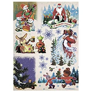 Amazon.com: Rice paper for decoupage. Russian New Year