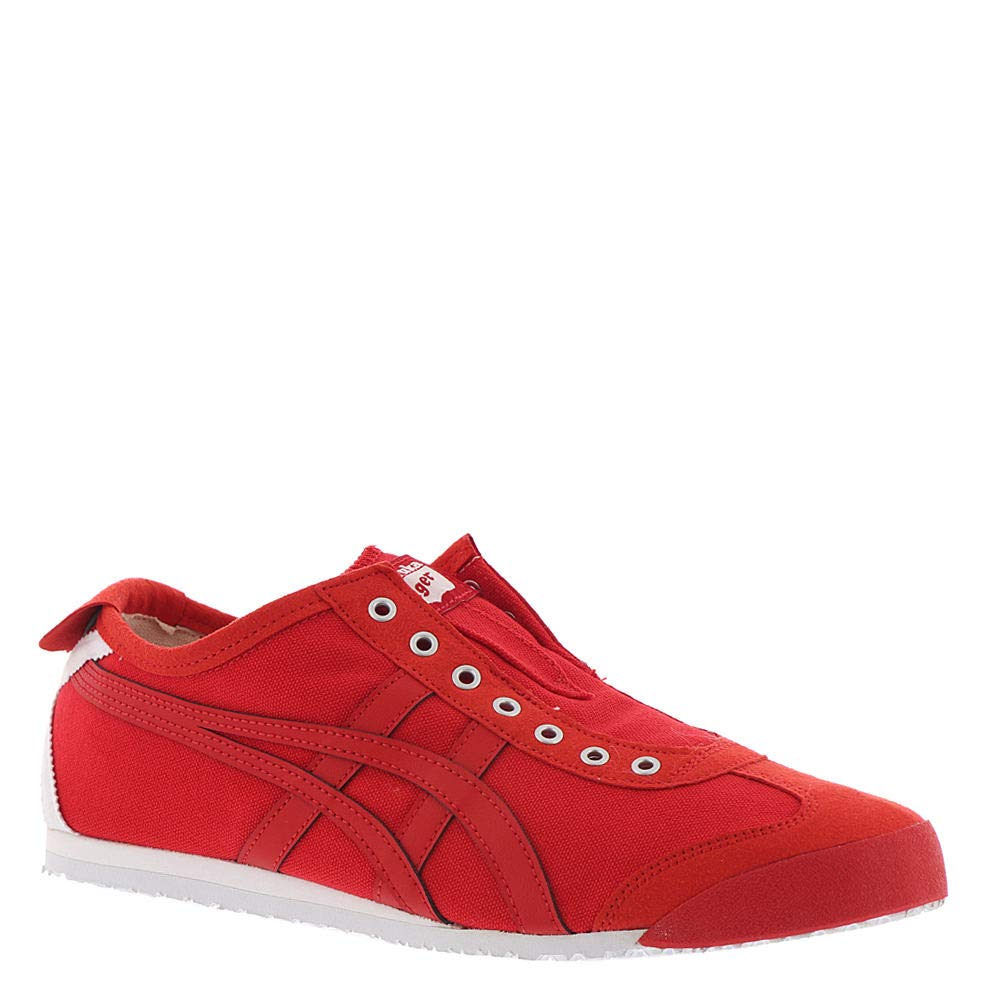 uk availability ba135 58cdc Onitsuka Tiger Unisex Mexico 66 Slip-on Shoes D3K0N, Classic Red/Classic  Red, 7 M US