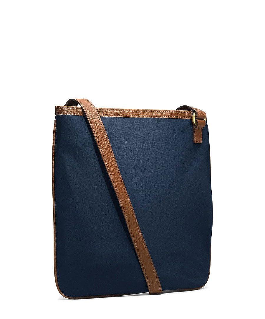 87a0fb6a955d MICHAEL Michael Kors Large Nylon Kempton Crossbody in Navy Blue  Handbags   Amazon.com