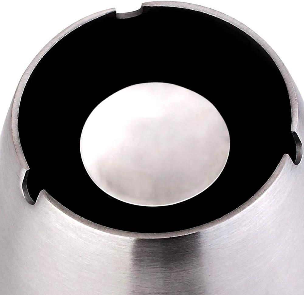 Hifina Cendrier Modern Grand Cendrier Inox
