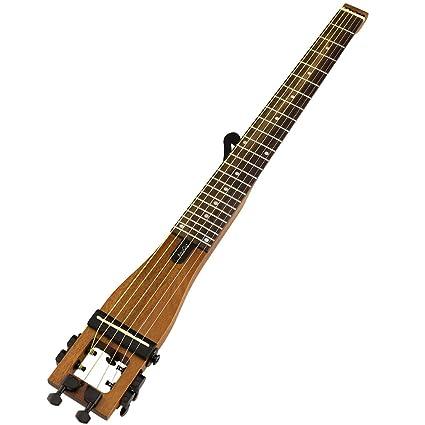 De la guitarra acústica de 6 Anygig traste de cuerdas de Nylon 64,77 cm