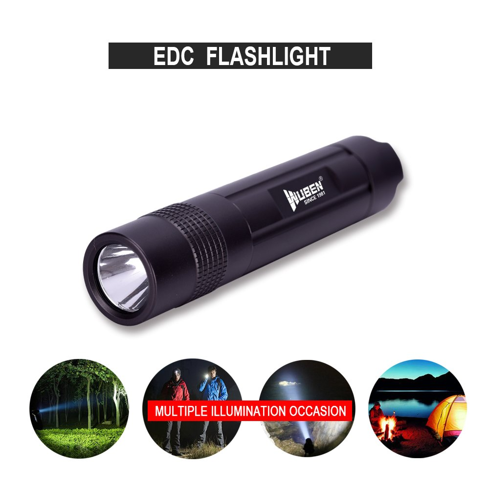 WUBEN LED Flashlight?USB Rechargeable Torch Waterproof IPX-8 ...