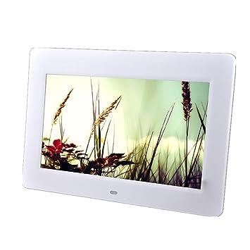 Marcos Digitales 10 pulgadas marco de fotos digital LCD y marco de vídeo de alta definición