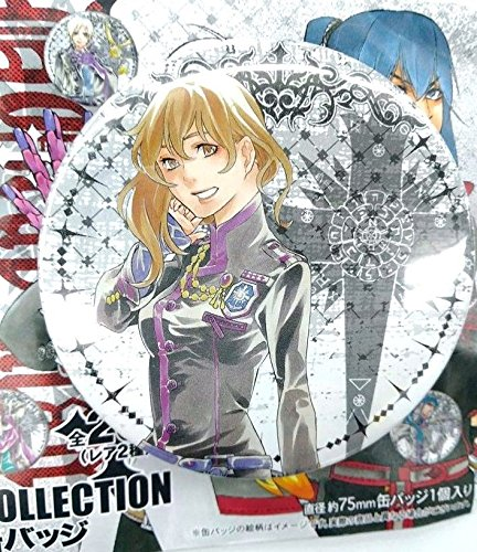 - D.Gray-Man Collection Can Badge Miranda Lotto Jump Shop Limited Anime F/S