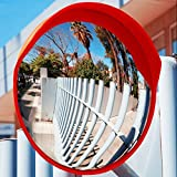 60cm Convex Wide Angle Mirror Traffic Driveway Shop Safety Security by LSL