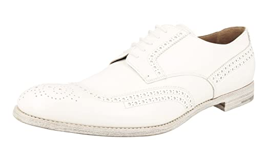 Men's 2EF020 Full Brogue Leather Business Shoes