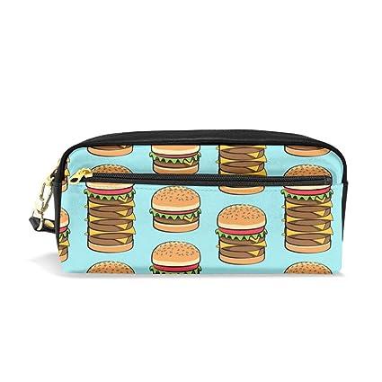 Me encantan las hamburguesas, telas de cocción - Blue_29991 ...