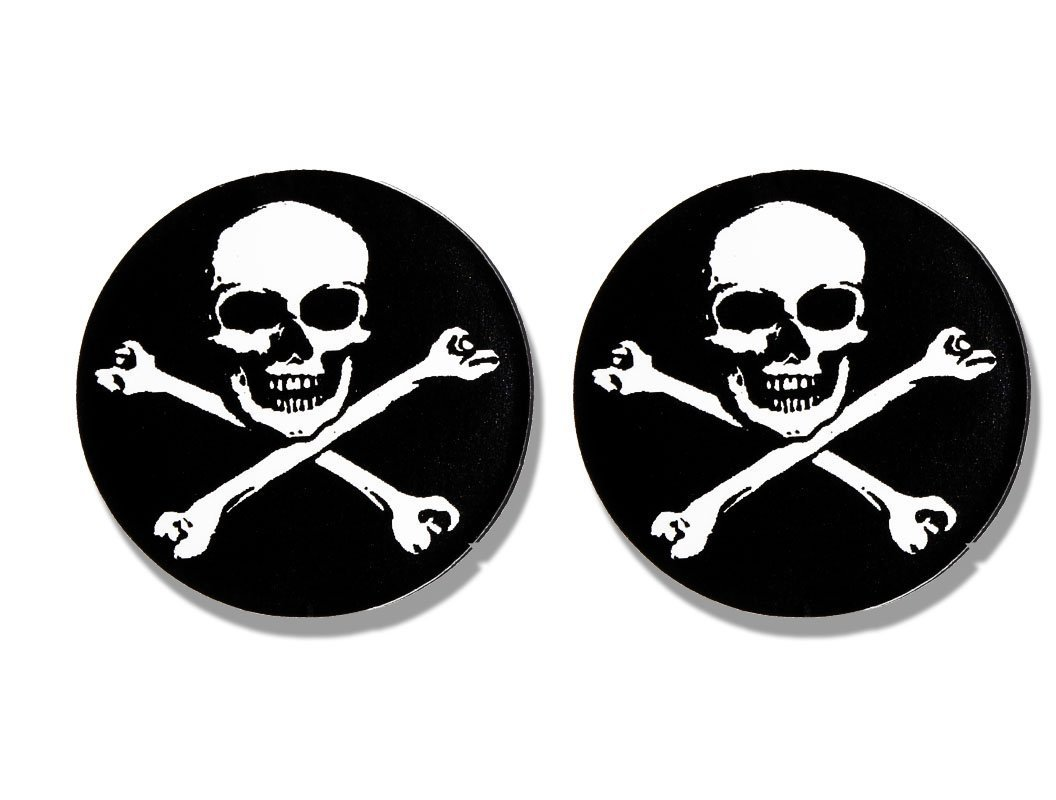 Amazon com licensed originals 2 x pic skull automotive