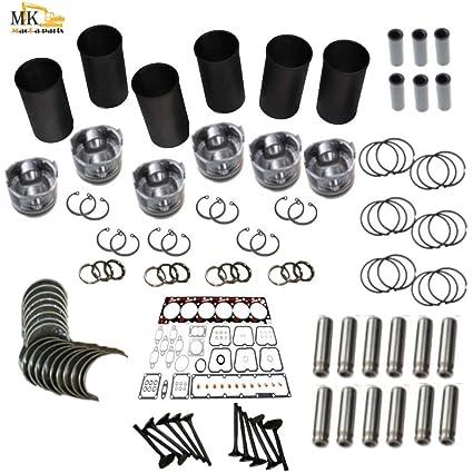 Amazon com: Rebuild Kit for Caterpillar 3406A 3406B 3406E