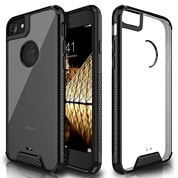 Amazon.com: Premium iphone 7 8 funda, cubierta transparente ...